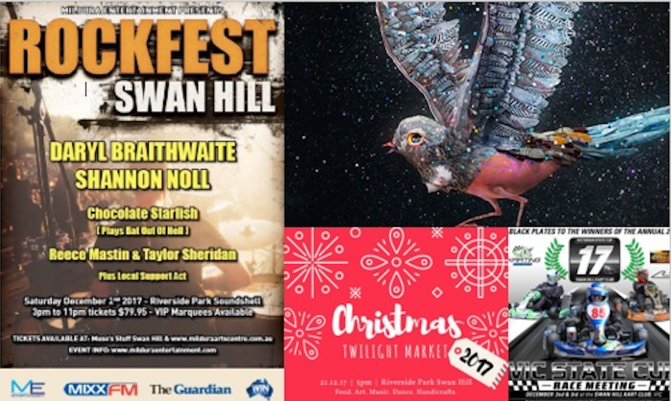 What's on in Swan Hill in December 2017!