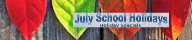 July School Holidays are here!
